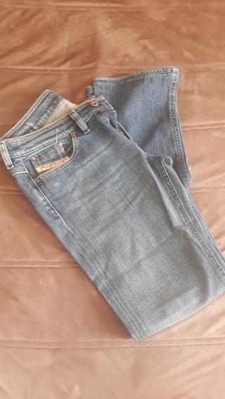 Calça Jeans Diesel Original, Tamanho 28, Veste 36/38
