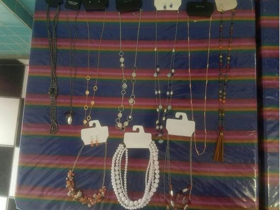 Lote De 10 Collares Vera Wang, Mudd, Metal , Color