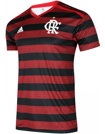 Camisa Flamengo adidas 2019 2020 Personalizada Nome
