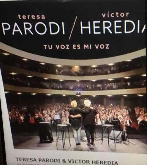 Parodi/ Heredia Tu Voz Es Mi Voz Cd+dvd