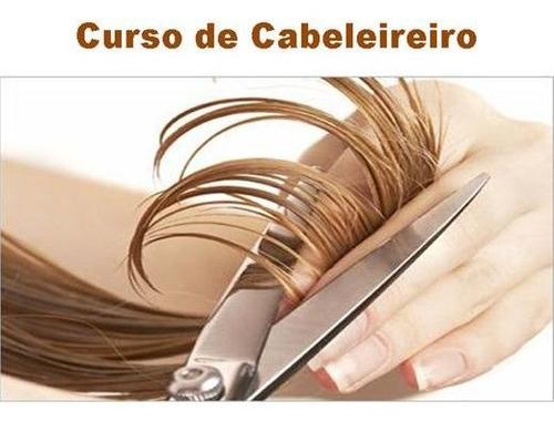 Imagem 1 de 1 de Curso De Cabelereiro Online