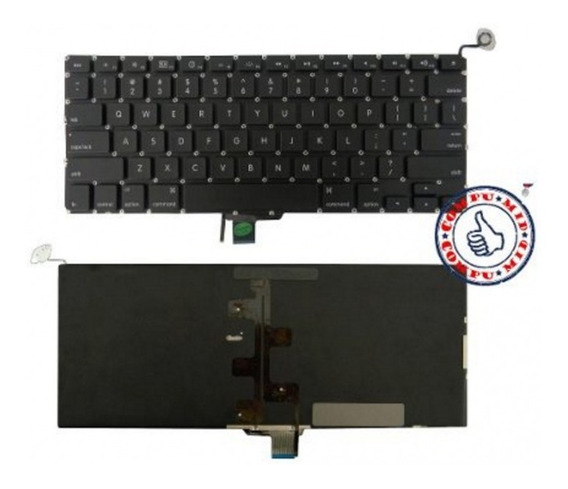 Teclado Macbook Pro A1278 Negro Ingles Backlight