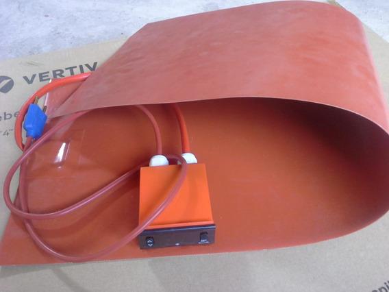 Manta Termica Dobrador De Lateral Dupla Luthier 91x30cm-220v