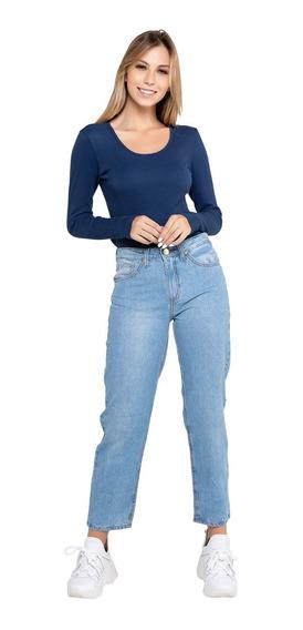 Calça Jeans Feminina Modelagem Mom Latifundio