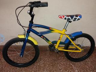 Bicicleta De Niño Niña- Rodado 16 - Colores De Boca