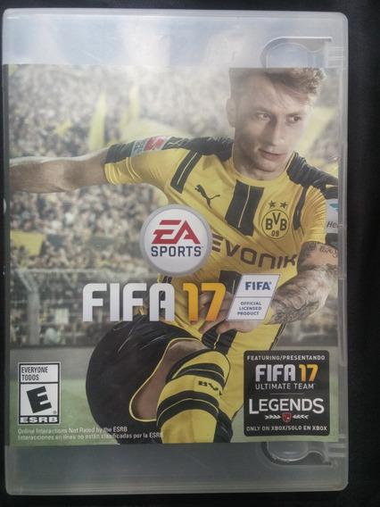 Fifa 17 Xbox One - 100% Original - Americano (mídia Física)