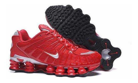 Zapatillas Nike Shox Tl1 Rojas Nuevas 39 A 44