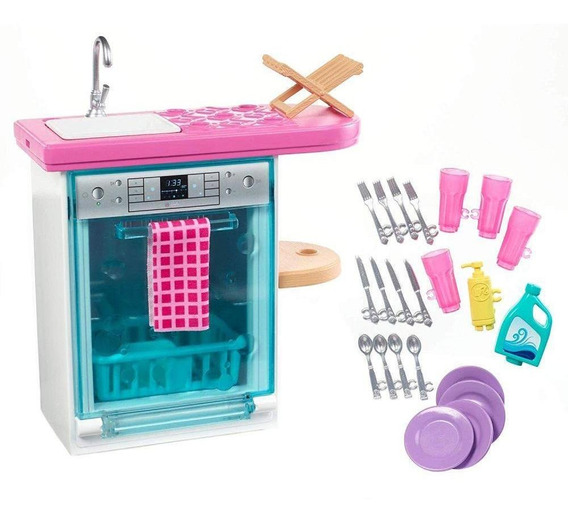 Barbie Móveis Básicos Lava Louças - Mattel