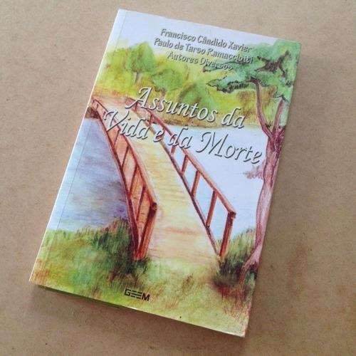 Livro Assuntos Da Vida E Da Morte - Chico Xavier - Usado
