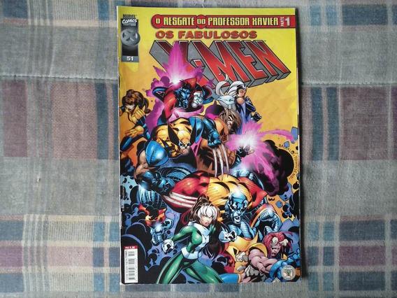 Revista Os Fabulosos X-men Nº 51 - Português