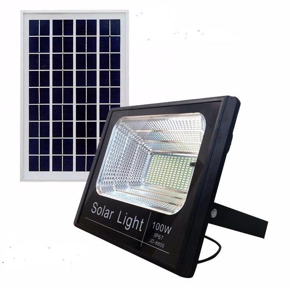 Kit 4 Refleto Solar De 100w Residencia Jardin Quintal Arvore