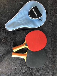 Raquete Tenis De Mesa + Raqueteira Artengo