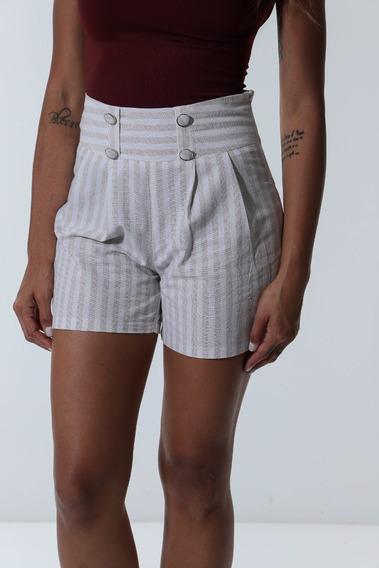Shorts Cintura Alta Mixxon