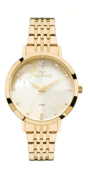 Relógio Technos Trend Feminino 2036mjg/4b Dourado