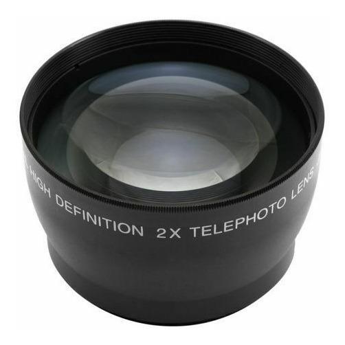 Super Lente Telefoto 37mm 2.2x Câmera Dsrl Sony Canon Nikon