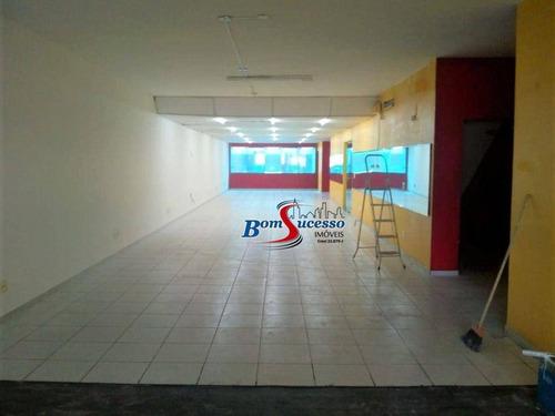 Imagem 1 de 9 de Salão Para Alugar, 200 M² Por R$ 3.500/mês - Mooca - São Paulo/sp - Sl0200