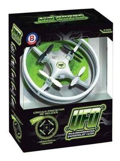Mini Drone Original Com Leds + Acessórios + Ferramentas Top