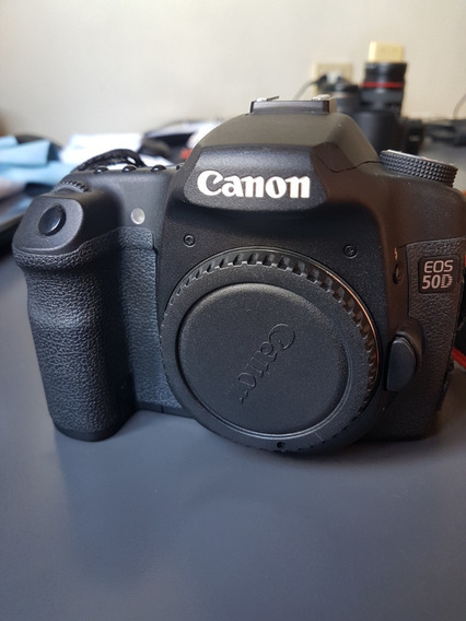 Camera Canon 50d Dslr Na Caixa - Linda!