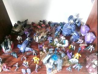 Halo Mega Construx Figuras Y Naves