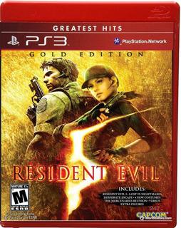 Resident Evil 5 Gold Edition Para Ps3 (en D3 Gamers)