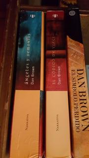 Libros De Dan Brown Usados En Excelentes Condiciones