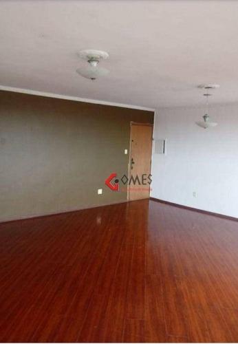 Imagem 1 de 16 de Apartamento Com 3 Dormitórios Para Alugar, 97 M² Por R$ 1.300,00/mês - Rudge Ramos - São Bernardo Do Campo/sp - Ap3258