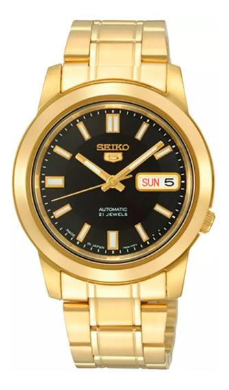 Relógio Seiko Snkk22k1 - Automático - 21 Rubis