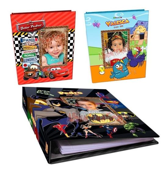 Album De Fotos Personalizado 15x21- 80 Fotos- Vários Modelos