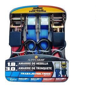Amarre De Hebilla Cinturones Seguridad 4 Piezas