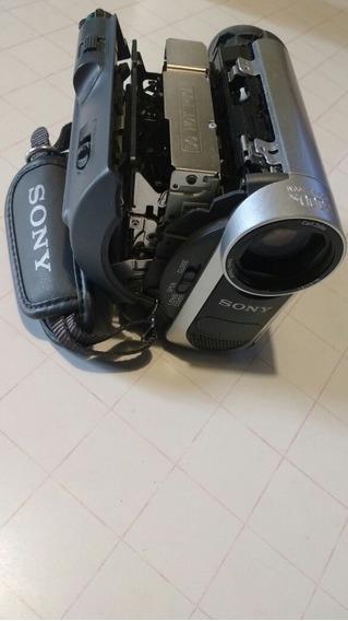Sony Hándicam Dcr-hc37 Cierre Cassette Trabado ,medio Desar