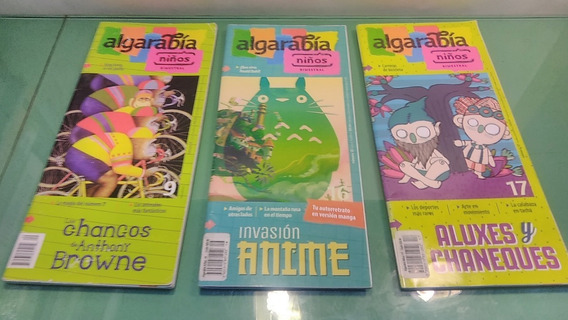 Revista Algarabia Niños . Varios Títulos Precio Es Por C/ U