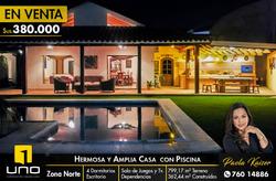 Bella Casa Con Piscina Zona Norte
