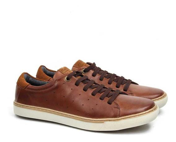 Sapato Couro Legitimo Sapatênis Perlatto + Brinde! 8510p
