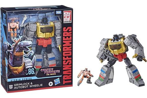Transformers Grimlock E Wheelie 21cm - Studio Series Hasbro