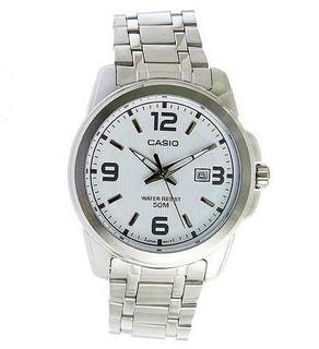 Reloj Casio Hombre,acero Sumergible,corona Protegida,wr50m.