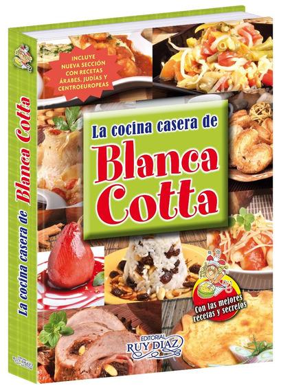 Libro De Cocina Casera Blanca Cotta