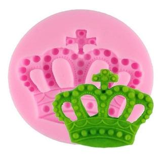 Molde Silicon Corona Imperial Princesa Flex Cupcake Fondant