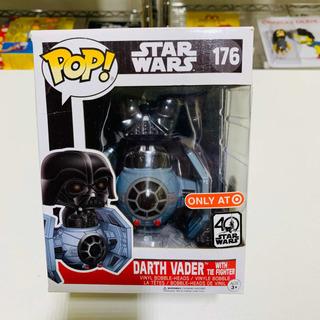 Darth Vader With Tie Fighter Funko Pop 176 Star Wars 40 Años
