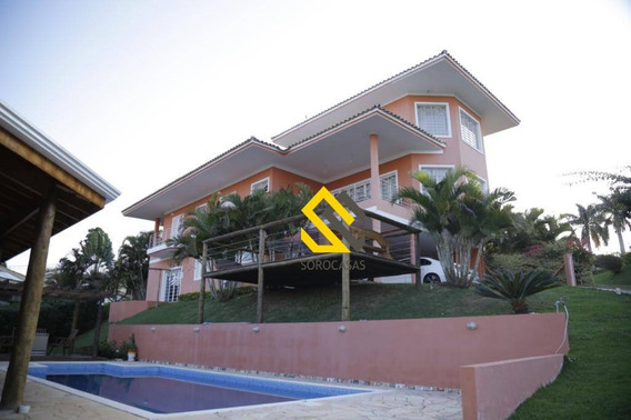 Casa À Venda, 600 M² Por R$ 1.500.000,00 - Condomínio Portal Do Sabiá - Araçoiaba Da Serra/sp - Ca1400
