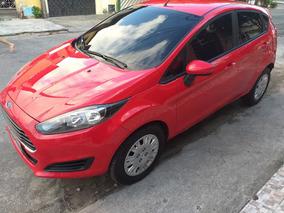 New Fiesta Hatch 1.5 16v 2013/2014 Vermelha