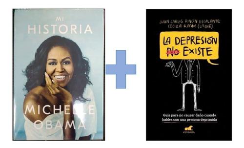 Combo De 2 Libros - Mi Historia Y La Depresión No Existe
