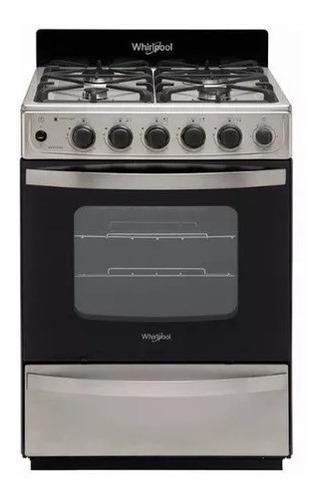 Imagen 1 de 7 de Cocina Whirlpool A Gas Wfx57di 56cm Inox Digiya