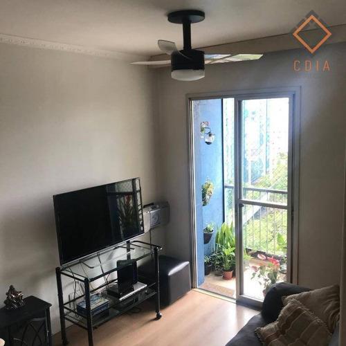 Apartamento Com 2 Dormitórios À Venda, 50 M² Por R$ 455.000,00 - Jabaquara - São Paulo/sp - Ap51431