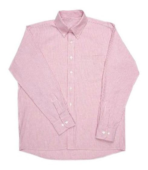 Camisas Oxford Yazbek Trabajo Uniformes M/l 9 Colores Disp.