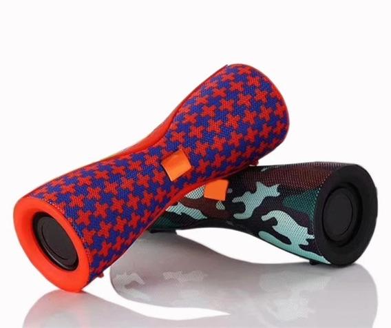 Caixa De Som Portátil Bluetooth Rádio E Leitor De Pen Drive