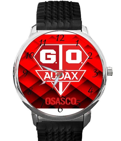 Relógio Grêmio Audax Osasco Futebol Bola Gol