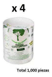 Plato Pastelero De Cartón Biodegradable [caja 1,000 Piezas]