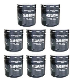 10 Unida L-glutamina 300g Forceup - 100% Pura