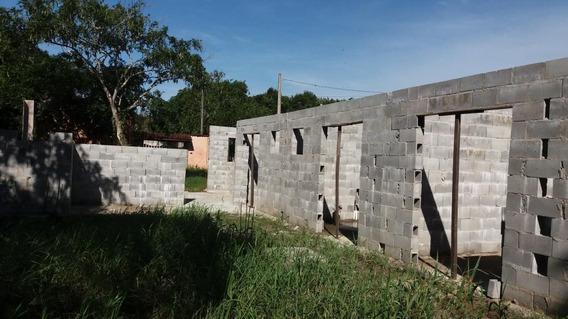Casa Semi Acabada, 800 Metros Da Rodovia, Ref. 0801 S