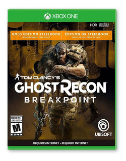 Ghost Recon Breakpoint Steelbook Gold Edition - Xbox One